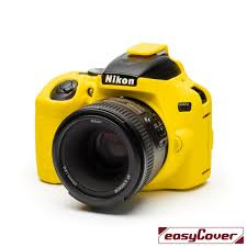 EasyCover Camera Case For Nikon D3500 yellow