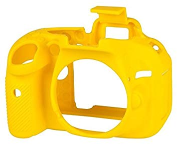 EasyCover Camera Case For Nikon D5200 yellow