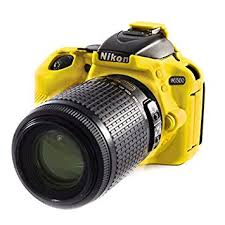 EasyCover Camera Case For Nikon D5500 / D5600 yellow