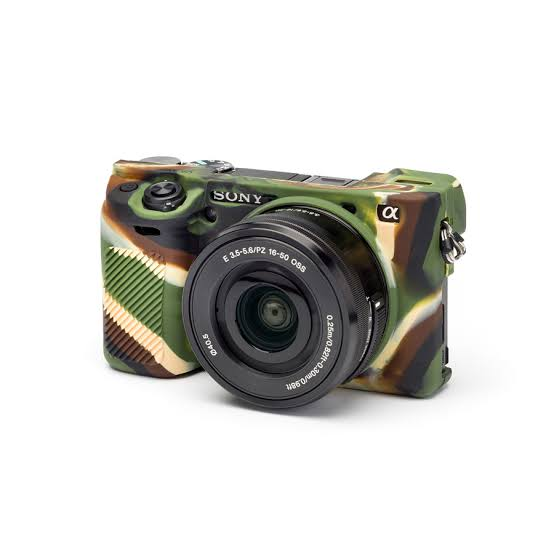 EasyCover Camera Case for Sony A6000 /A6400 Camouflag