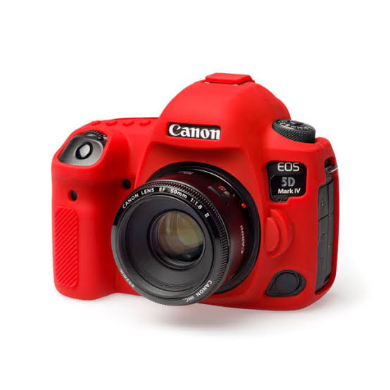 EasyCover Camera Case For Canon 5D Mark 4 red