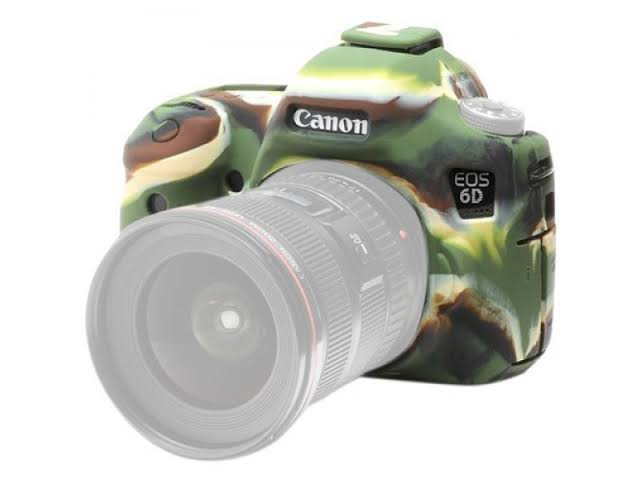 EasyCover Camera Case For Canon 6D Mark II camouflage