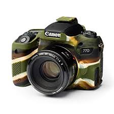 EasyCover Camera Case For Canon 77D camouflage