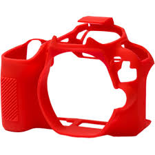 EasyCover Camera Case For Canon 200D / 250D / SL2 / SL3 red