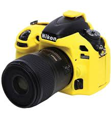 EasyCover Camera Case For Nikon D600/D610 yellow